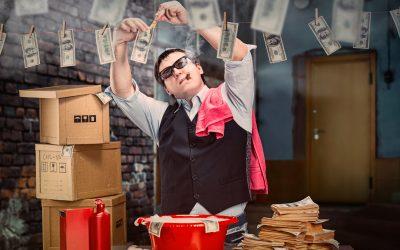 ¿Qué es el lavado de dinero?