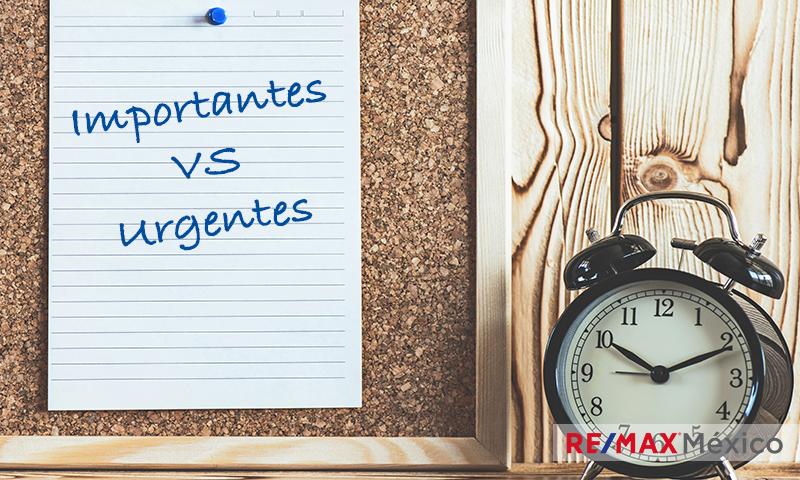 ¿Sabes distinguir entre tareas importantes y urgentes?