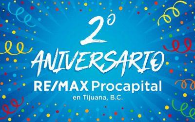 2º Aniversario RE/MAX Procapital en Tijuana, BC.