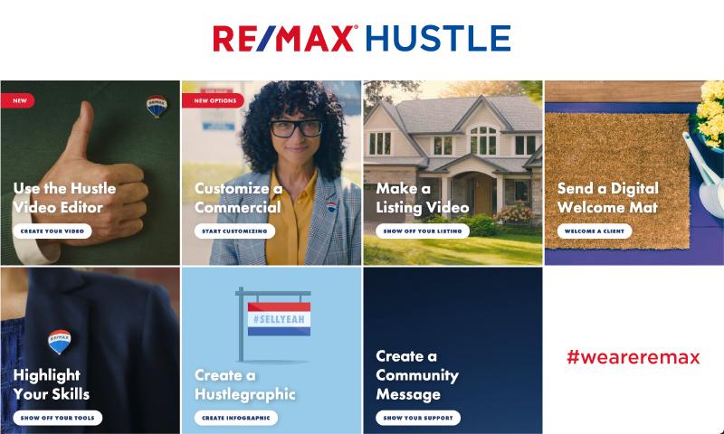 RE/MAX Hustle lanza nuevas herramientas de marketing para Asesores Inmobiliarios RE/MAX